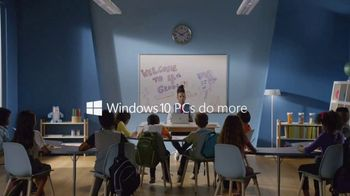 Windows 10 TV Spot, 'Teacher Toney Jackson Brings Creativity' - Thumbnail 10