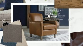 Bassett Half Off Weekend TV Spot, 'Tables, Chairs and Beds' - Thumbnail 6
