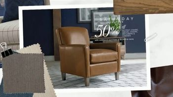 Bassett Half Off Weekend TV Spot, 'Tables, Chairs and Beds' - Thumbnail 7