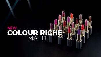 L'Oreal Paris Colour Riche Matte TV Spot, 'Addictive' - Thumbnail 8