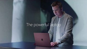 Microsoft Surface Laptop TV Spot, 'Powerfully Beautiful' Song by Imagine Dragons - Thumbnail 5