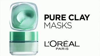 L'Oreal Paris Pure Clay Masks TV Spot, 'Insta-Detox' - Thumbnail 4