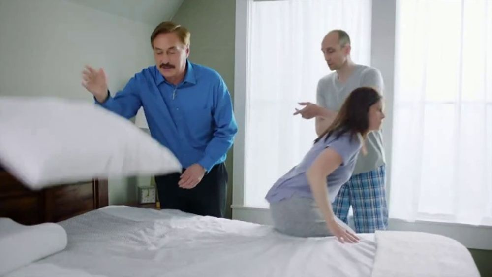 My Pillow Premium Tv Commercial Best Sleep Of Your Life