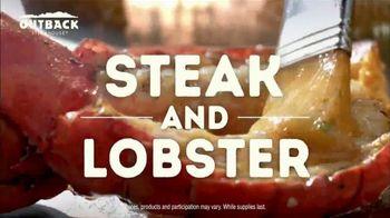Outback Steakhouse Steak & Lobster TV Spot, 'It's Back!' - Thumbnail 3