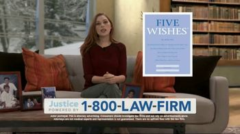 1-800-LAW-FIRM TV Spot, 'Five Wishes: Mesothelioma'