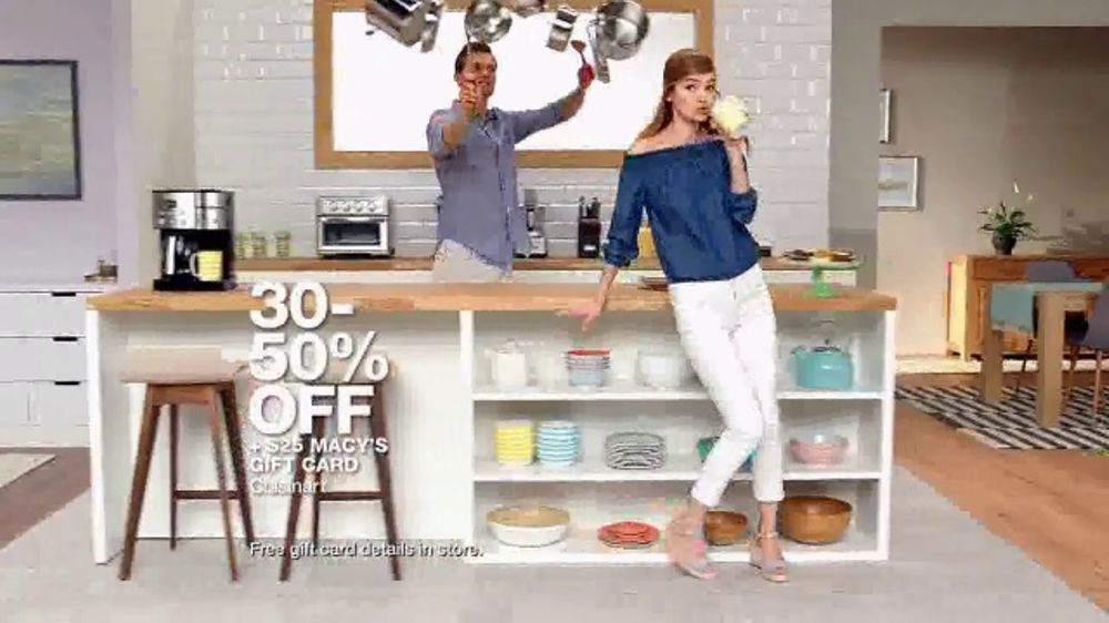 macys big home sale tv commercial bedding kitchen and luggage ispottv - Macys Kitchen
