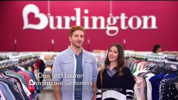 Burlington TV Spot, 'Dan & Lauren Know What Keeps Couples Happy'