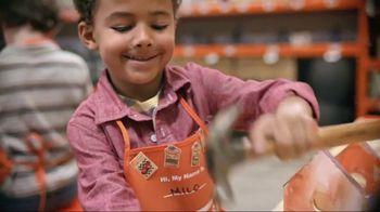 The Home Depot Kids Workshop TV Spot, 'Stay Busy, Little Hands' - Thumbnail 3