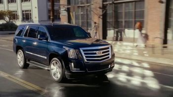 Cadillac Made to Move 2017 Clearance Event TV Spot, \'Perfect Fit: Escalade\'