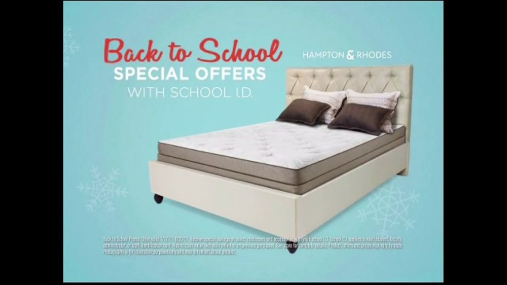 Mattress Firm Coolest Sleep Sale Ever Tv Commercial Back