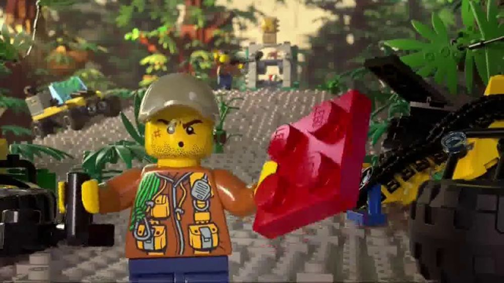 LEGO City Jungle Set TV Commercial, 'Capture the Crystal' - Video