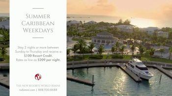 Resorts World Bimini Summer Caribbean Weekdays TV Spot, 'Luxury' - Thumbnail 10