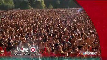 Global Citizen App TV Spot, 'MSNBC: Contribute' - Thumbnail 8