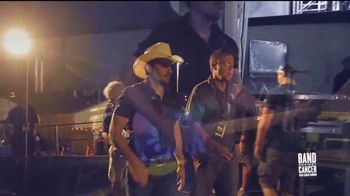 Band Against Cancer TV Spot, 'Today' Featuring Brad Paisley - Thumbnail 4