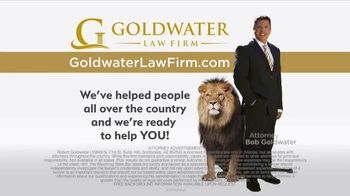 Goldwater Law Firm TV Spot, 'Defective Drug'