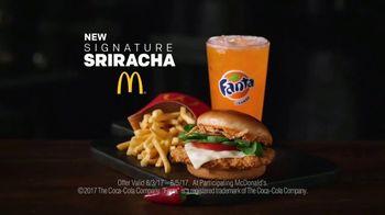 McDonald's Signature Sriracha Sandwich TV Spot, 'Turn It Up: Fries & Drink' - Thumbnail 10
