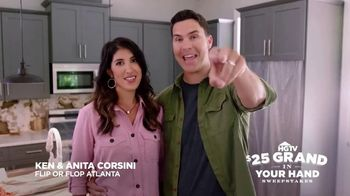 HGTV $25 Grand in Your Hand Sweepstakes TV Spot, 'Serious Cash'