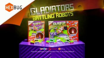 Hexbug Gladiators Battling Robots TV Spot, 'Step Into the Arena' - Thumbnail 9