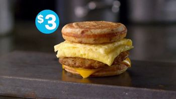 McDonald's Sausage, Egg & Cheese McGriddle TV Spot, 'For Every Morning' - Thumbnail 9