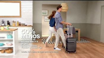 Macy's Gran Venta del Hogar TV Spot, 'Cama, cocina y equipaje' [Spanish] - Thumbnail 5