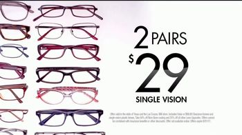Visionworks TV Spot, 'Two Pairs for $29' - Thumbnail 3