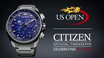 Citizen Watch Bluetooth Watch TV Spot, 'US Open: Unplug' - Thumbnail 8
