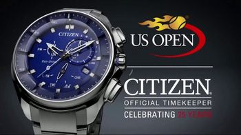 Citizen Watch Bluetooth Watch TV Spot, 'US Open: Unplug'