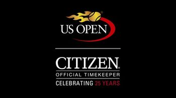 Citizen Eco-Drive Watch TV Spot, 'Live With Light: US Open' - Thumbnail 7