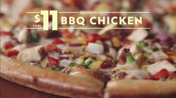 Papa Murphy's BBQ Chicken Pizza TV Spot, 'Law of Nice Try' - Thumbnail 9