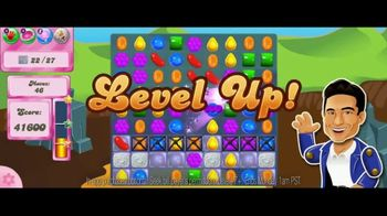 Candy Crush Saga TV Spot, 'Level Up' Song by Björk - 650 commercial airings