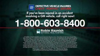 Robin Raynish Law TV Spot, 'General Motors Recalls' - Thumbnail 5