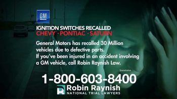 Robin Raynish Law TV Spot, 'General Motors Recalls' - Thumbnail 3