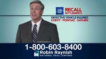 Robin Raynish Law TV Spot, 'General Motors Recalls' - Thumbnail 4