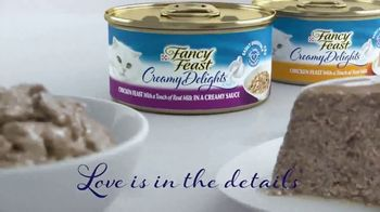 Fancy Feast Creamy Delights TV Spot, 'Just the Right Touch' - Thumbnail 9