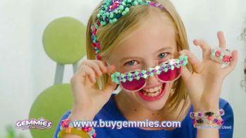Gemmies Sparkle Loom TV Spot, 'Mix, Match & Make' - 110 commercial airings