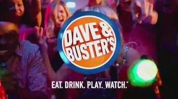 Dave and Buster's Eat and Play Combo TV Spot, 'Game Card and Food' - Thumbnail 5