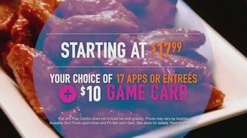 Dave and Buster's Eat and Play Combo TV Spot, 'Game Card and Food' - Thumbnail 3