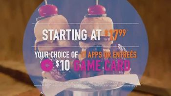 Dave and Buster's Eat and Play Combo TV Spot, 'Game Card and Food' - Thumbnail 4