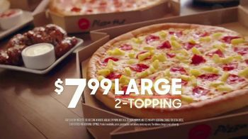 Pizza Hut $7.99 2-Topping Pizza TV Spot, 'However You Want' - 1779 commercial airings