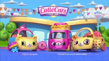 Shopkins Cutie Cars TV Spot, 'Life in the Cute Lane'