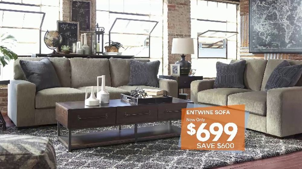 Ashley HomeStore Big Event TV Commercial, U0027Sofas, Dining Rooms And Bedsu0027    ISpot.tv