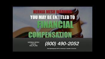 Hernia Mesh Advocates TV Spot, 'Don't Be a Silent Victim' - Thumbnail 3