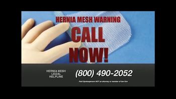 Hernia Mesh Advocates TV Spot, 'Don't Be a Silent Victim' - Thumbnail 6