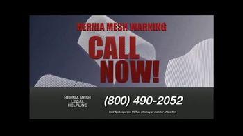 Hernia Mesh Advocates TV Spot, 'Don't Be a Silent Victim' - Thumbnail 8
