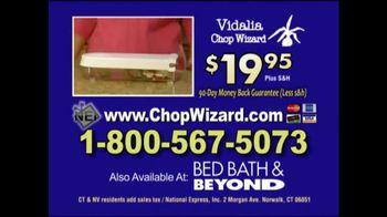 Vidalia Chop Wizard TV Spot, 'All That Chopping' - Thumbnail 8