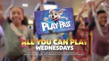 Chuck E. Cheese's TV Spot, 'Volcano: All You Can Play Wednesdays' - Thumbnail 8