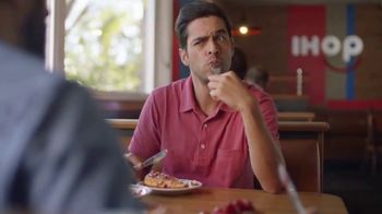 IHOP French-Toasted Donuts TV Spot, 'The Eyebrows Say It All'
