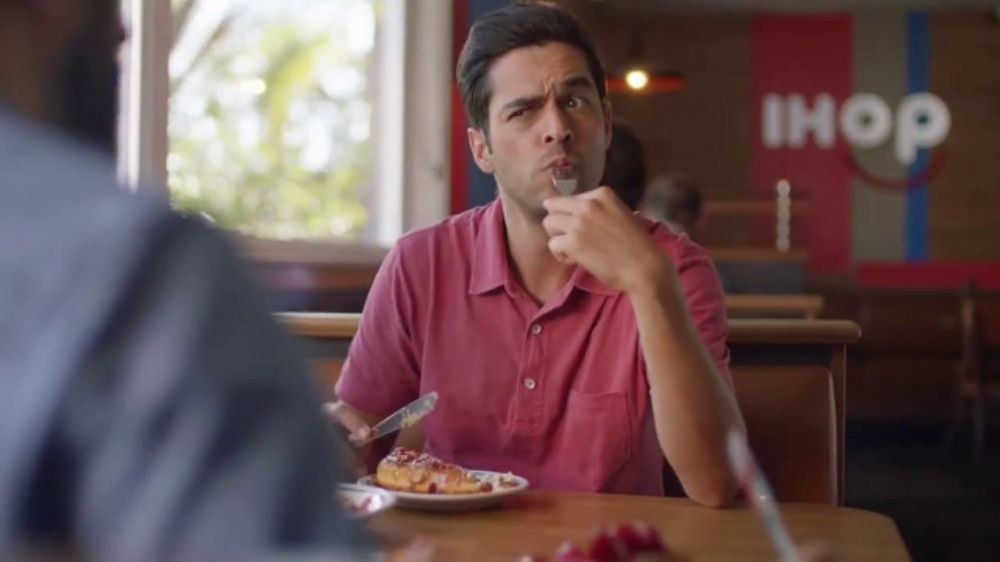 IHOP French-Toasted Donuts TV Commercial, 'The Eyebrows Say It All'