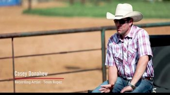 Justin Boots Bent Rail TV Spot, 'Saddle to Stage' Featuring Casey Donahew