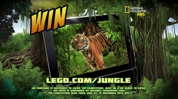 LEGO City Jungle Sets TV Spot, 'National Geographic Kids: Family Trip' - Thumbnail 7